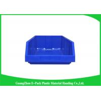 Buy cheap Antistatic Warehouse Storage Bins 10L Colored HDPE Convenience Stores PP Material from wholesalers