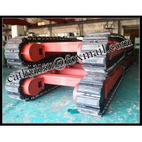 Buy cheap custom built 10-15 ton steel track undercarriage with rubber pads from wholesalers
