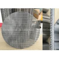 Wedge Wire Screen Panel Fiter Mesh For Liquid Seperation Or Filtration With 0.3mm Opening Slot , OD 200mm