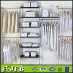 Buy cheap household room cabinets wall sliding wardrobe doors hardware aluminum wardrobe closet from wholesalers