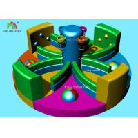 Buy cheap Amusement Inflatable Sports Games Team Building Children Basketball Pitch from wholesalers