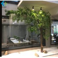 Wholesale One Side Type Artificial Ficus Tree Customized Design 5-10 Years Life Time from china suppliers