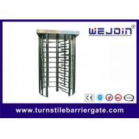 Buy cheap Pedestrian Security Gates Automatic Turnstile Full Height Turnstile With Memory Function from wholesalers