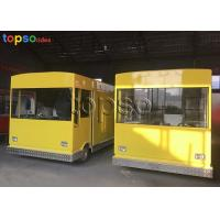 Buy cheap Customized Mobile Food Trailer Theme Park Food Truck Vendors 3 Layers Flooring from wholesalers