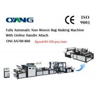 Wholesale Eco Bag Automatic Non Woven Bag Making Machine For Carry / Shopping Bag from china suppliers