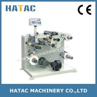 Buy cheap Automatic Adhesive Label Slitting Rewinding Machinery,Stickers Slitter Rewinder Machine from wholesalers