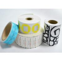 Buy cheap Self Adhesive Blank Eggshell Stickers Reusable Removable Vinyl Paper Roll from wholesalers