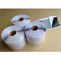 White Self Adhesive Butyl Sealing Tape For Insulation / Anti Vibration 2mm