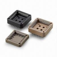 Buy cheap PLCC IC Socket in 2.54 DIP/SMT Type with Phosphor Bronze Contact Material from wholesalers