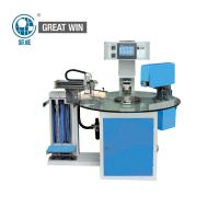 Buy cheap 1.5kw Shoes Digital Printing Machine , Multi - Station Rotary Table Label Hot Stamping Machine from wholesalers