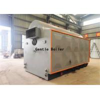 Wholesale Fire Tube Rice Husk Wood Steam Boiler For AAC Block Plant 1 - 20 Ton/H Capacity from china suppliers