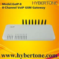 Buy cheap 8 Ports GoIP GSM Gateway GoIP-8 Quad band IMEI chang SMS for VoIP terminal from wholesalers