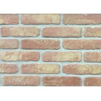5D20-8 Handmade Clay Thin Veneer Brick For House Building Faux Brick Wall Manufactures