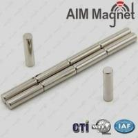 Buy cheap Making Permanent Disc/Cylinder/Bar/Neodymium Magnet N52 D8x2mm from wholesalers