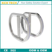 Wholesale Round Circle High Grade Fast Swing Turnstile Speed Barrier Gate for Bank Hotel School from china suppliers