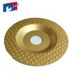 Buy cheap Continuous Rim Diamond Cup Wheel , Economic Diamond Floor Grinding Disc from wholesalers