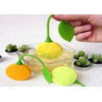 Buy cheap Heat Insulation Silicone Kitchen Tools Food Grade Silicone Tea Bag Of Lemon Shaped from wholesalers