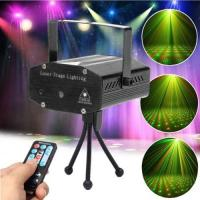 Buy cheap Mini disco DJ club gypsophila laser projector with remote control & sound active & auto mode function black from wholesalers