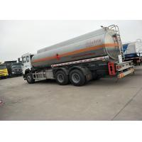 Wholesale 10 Wheels 336HP 18M3 Oil Tanker Truck For Oil Transportation , White Color from china suppliers