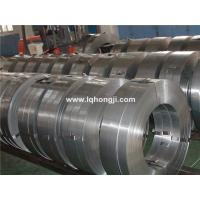 China Galvanized steel strapping for packing on sale