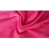 Buy cheap Dye Cotton / CVC / TC 2x2 Rib Knit Fabric , Thick Ribbing Fabric For Cuffs And Hoodie from wholesalers