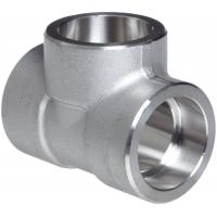 Buy cheap Forged Alloy Steel Fittings , Stainless Steel Equal Tee A-182 / A105,Socketweld & Threaded from wholesalers