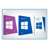 Buy cheap Original Windows 8.1 64 Bit Product Key Oem Package With DVD Key Card from wholesalers