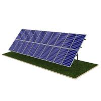 Buy cheap Steel Pile Solar Panel Ground Mounting Systems Rapid Installation 20M Max Building Height from wholesalers