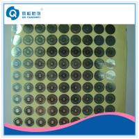 Buy cheap Personalized Hologram Security Stickers , Medicine Anti Tamper Label Sheets from wholesalers
