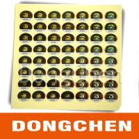 Buy cheap Hot stamping digital code anti-counterfeiting label from wholesalers