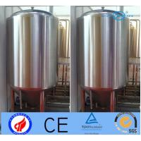 Quality 500L Stainless Steel Beer Making Machine , Fermentation Vessel With Jacket for sale