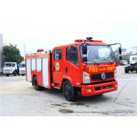 Wholesale Emergency Fire Fighting Truck With Cummins EQB125 Diesel Engine 4000Liters Water from china suppliers