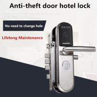 Buy cheap Hotel / Apartment Intelligent Door Lock , Anti - Theft Electronic Smart Lock from wholesalers