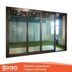 Buy cheap folding sliding glass doors Aluminum Sliding Glass Patio Doors Modern Design Custom Sliding Glass Doors from wholesalers