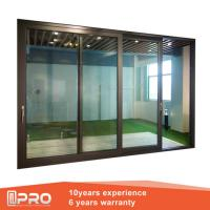 Wholesale folding sliding glass doors Aluminum Sliding Glass Patio Doors Modern Design Custom Sliding Glass Doors from china suppliers