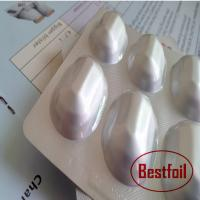Buy cheap Medical cold form alu alu blister packaging material for capsule blister pack from wholesalers