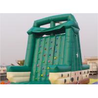 Buy cheap Double Stitching Inflatable Climbing Walls / Rock Climbing Walls For Commercial from wholesalers