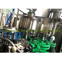 China Small Glass Bottle Filling Machine , Germany Purified Pure Water Bottling Plant on sale