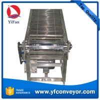 Wholesale Stainlees Steel Slat Chain Conveyor with Good Load Capacity from china suppliers