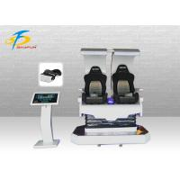 Buy cheap Cool Godzilla Virtual Reality Simulator With Rotation / 2 Seats 9D VR Cinema product