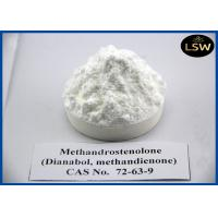 Buy cheap Legal Oral White Powder Anabolic Dianabol Steroid High Purity CAS 72-63-9 For Building Muscle from wholesalers