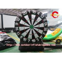 Entertainment Giant Inflatable Dart Game Project , Inflatable Soccer Darts For Adult Manufactures