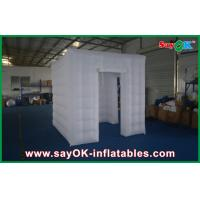 Buy cheap White Square Inflatable Photo Booth Large Versatile With Two Doors from wholesalers