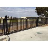 Buy cheap Powder Coated 4x8 Wrought Iron Fence Panels , Wrought Iron Fence Gate from wholesalers