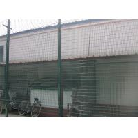Buy cheap Metal Materials Green / Steel 358 Mesh Fencing 500g/M2 Zinc Coating Anti Intruder from wholesalers