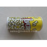 Buy cheap Unfolded 380ml Disposable Ice Cream Paper Cups With Logo Printed 90 * 60 * 110mm from wholesalers