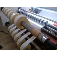 2200KG Avoid Crinkling Stretch Film Rewinding Machine For OPP , PP , PE , PVC Manufactures