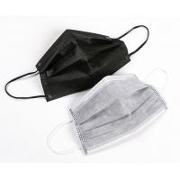 Buy cheap Dust Resistant Disposable Face Mask That Covers Mouth And Nose With Earloop from wholesalers