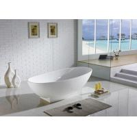 Buy cheap Acrylic Free Standing Bathtub , Single Standing Bath Tubs Distinct Tapered from wholesalers
