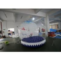 Wholesale 3m Inflatable Human Size Snow Globe For Promotion Fire Retardant from china suppliers
